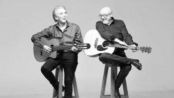 Jairo y Juan Carlos Baglietto se presentarán este domingo en el Teatro María Auxiliadora.