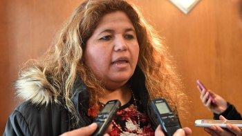 Leticia Huichaqueo, ministra de Familia de Chubut.