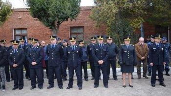 homenajearon a policias caidos en servicio
