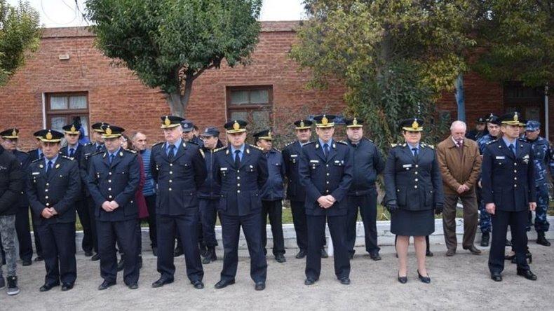 Homenajearon a policías caídos en servicio