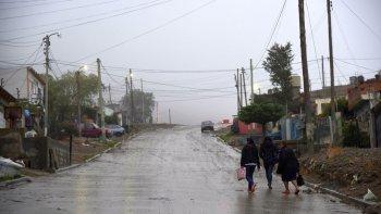pronostican mas de 20 milimetros de  lluvia desde esta tarde en comodoro