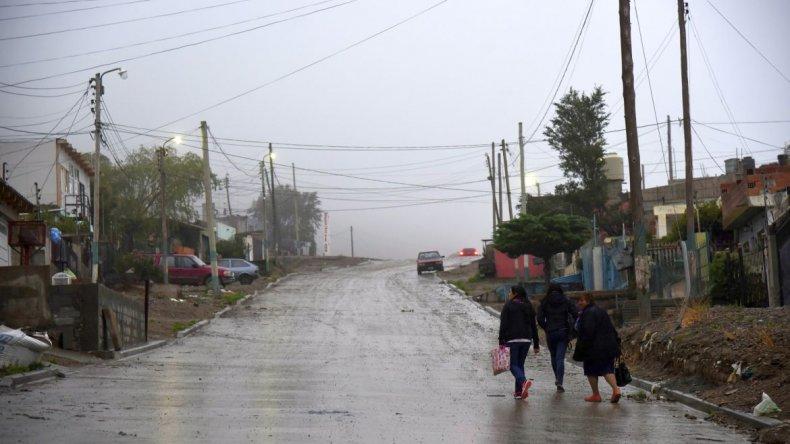 Mañana por la tarde habrá chaparrones en Comodoro