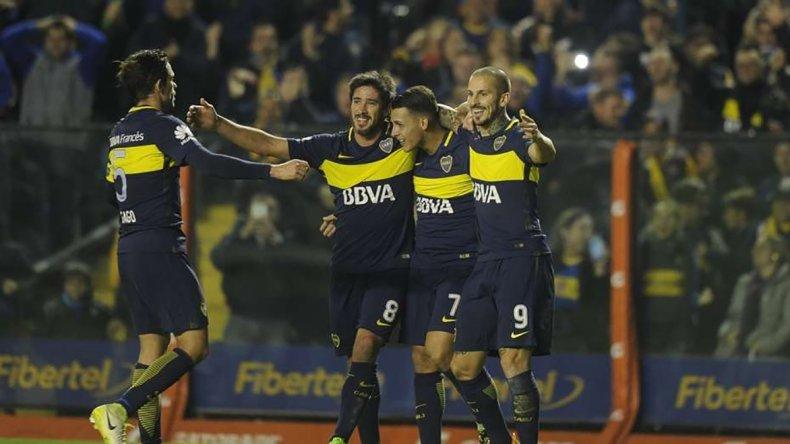 Boca viene de golear 3-0 a Independiente y si hoy gana