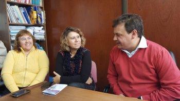 Susana González, Beatriz Escudero y Diego Lazzarone brindaron detalles de la nueva propuesta cultural.
