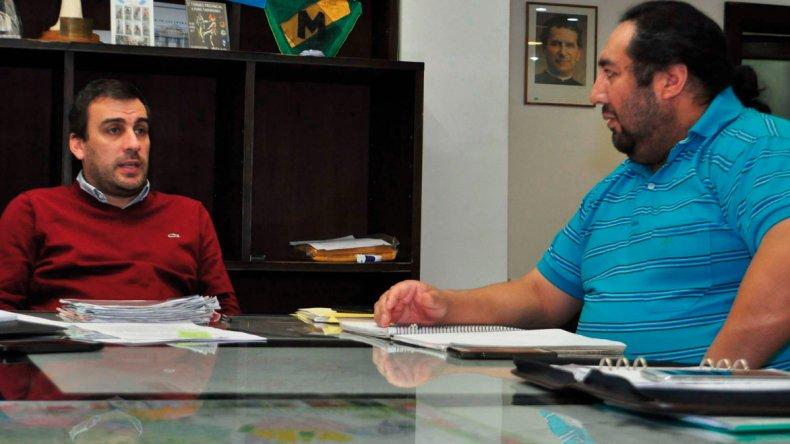 El intendente Prades se comprometió a brindar apoyo a la comunidad de pueblos originarios.