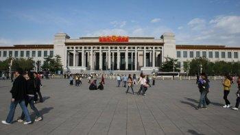 El Museo Nacional de China tiene entrada gratuita, factor que pudo acrecentar su popularidad.