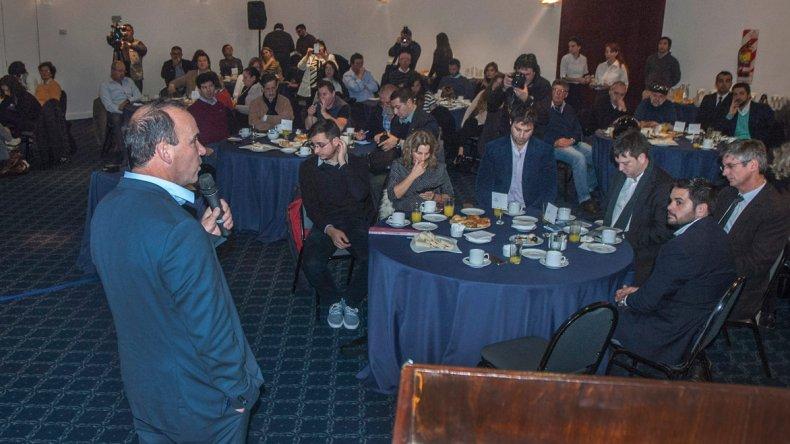 La presentación de la temporada se realizó en el reconocido Hotel Dazzler del microcentro porteño.