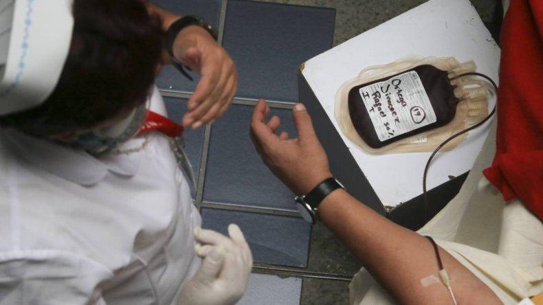 Colecta externa en celebración del  Día Mundial del Donante de Sangre