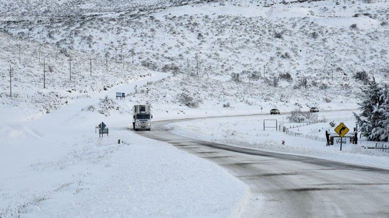 Por la nieve, Defensa Civil activó el Comité de Emergencia