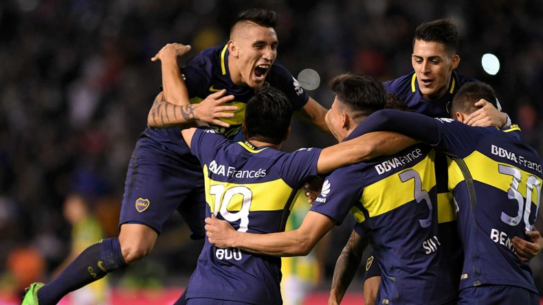 Boca goleó en Mar del Plata a Aldosivi y acaricia el título.