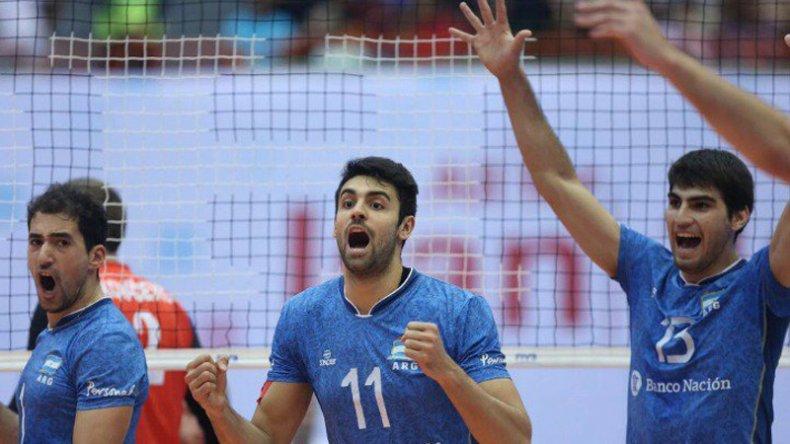 Argentina derrotó al campeón olímpico Brasil en la Liga Mundial de vóleibol