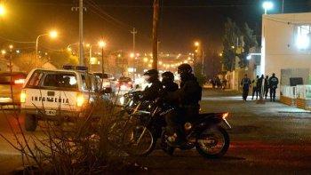 la division policial de motos operara en las principales ciudades de chubut