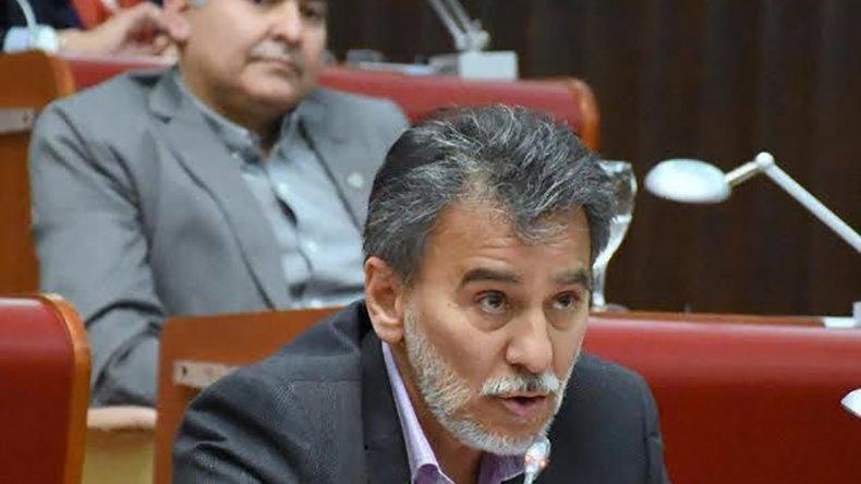 El diputado Conde presentó la iniciativa en la Legislatura.
