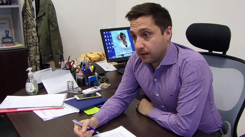 Nicolás Caridi es autor del proyecto sobre el FAEM que aprobó el Concejo en su última sesión.