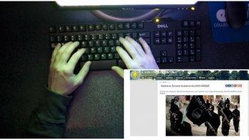 hackearon la pagina del ejercito y advirtieron: isis esta en argentina
