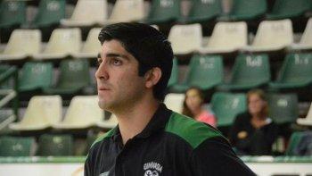Toda la confianza del Verde depositada en Martín Villagrán, que conoce el club como si fuese su casa.