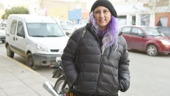 Elizabet Palamara llegó desde Mar del Plata para ofrecer el taller de teatro vivencial.