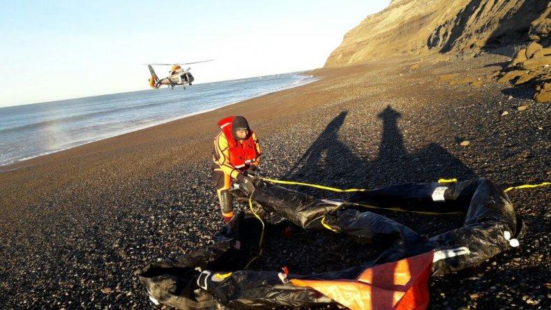 Prefectura encontró elementos del pesquero Repunte