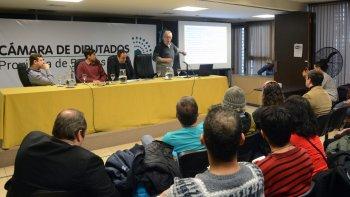 Se realizó el Primer Congreso Argentino de Cannabis y Salud en la Cámara de Diputados bonaerense, en La Plata.