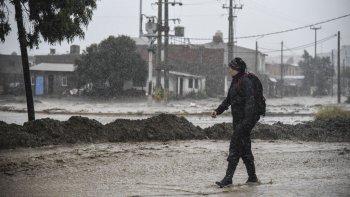 el servicio meteorologico nacional lanzo un alerta por lluvias y nevadas