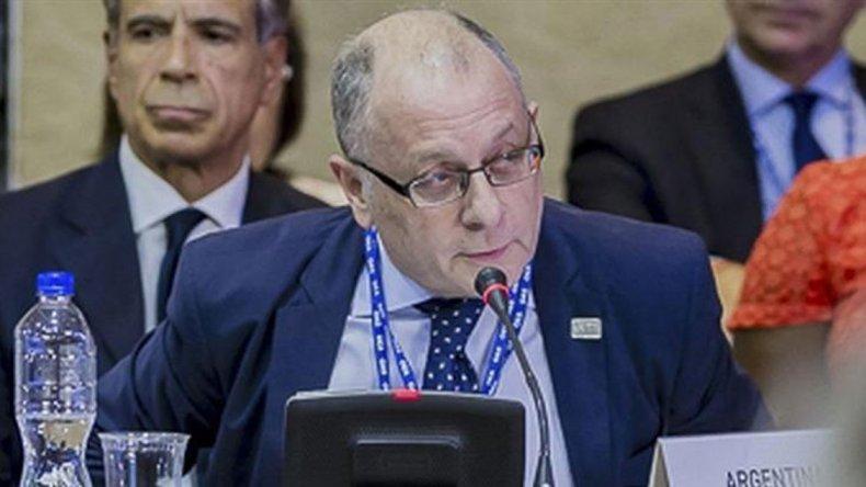 El canciller Jorge Faurie reivindicó la soberanía argentina sobre las Malvinas.