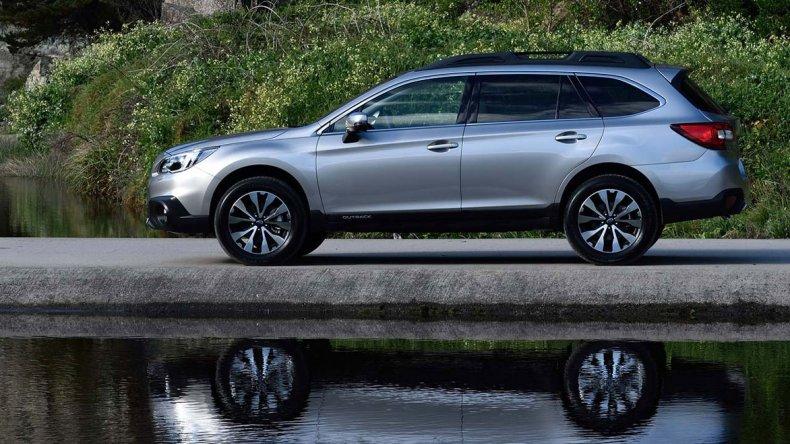 La Subaru Outback llega  al país con nueva versión
