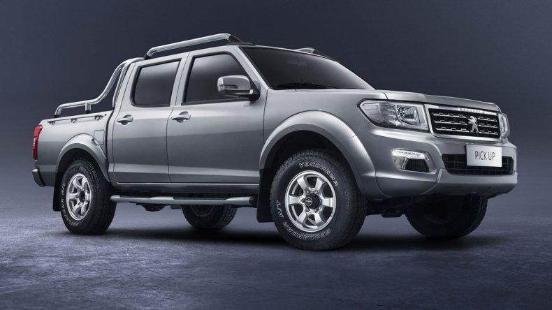 Esta es la nueva pick up de Peugeot