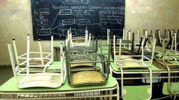atech afirma que en 12 escuelas no hay clases por falta de calefaccion
