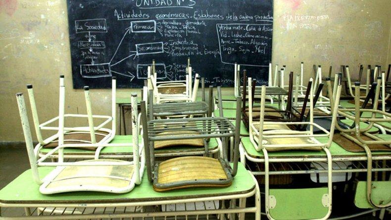ATECh afirma que en 12 escuelas no hay clases por falta de calefacción