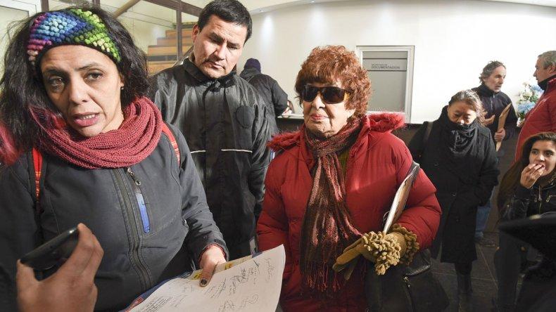 Luego de manifestarse en el municipio