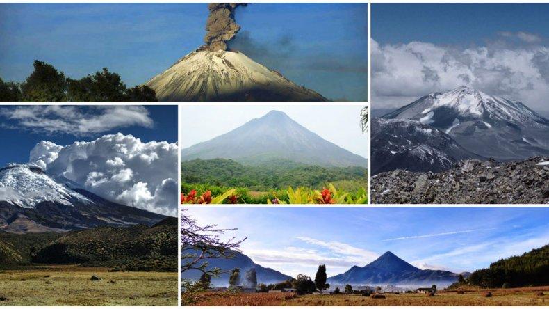 Top 5:  Los volcanes activos más impresionantes de América Latina