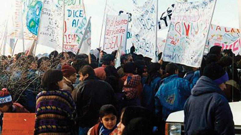 El 17 de junio de 1996 se produjo la histórica Gesta de Gastre que convocó a más de 6 mil personas de toda la región para decirle no al basurero nuclear.