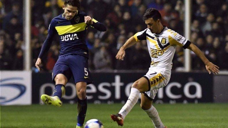 Boca viene de jugar en Bahía Blanca