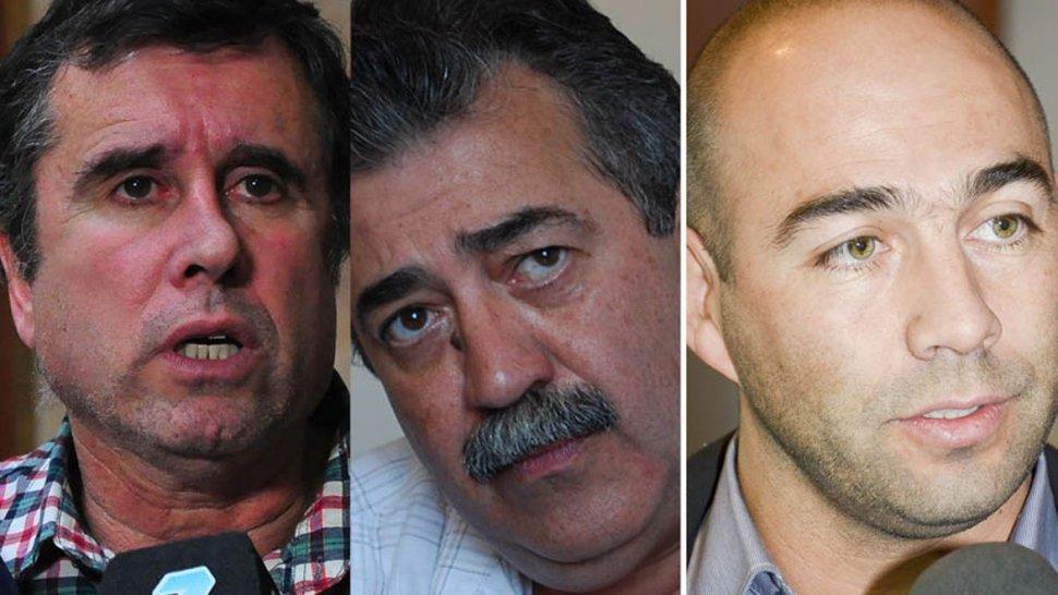 Ricardo Fueyo, Héctor González y Miguel Díaz encabezan tres de las listas de precandidatos que el PJ-Frente para la Victoria presentará en las PASO del domingo 13 de agosto.