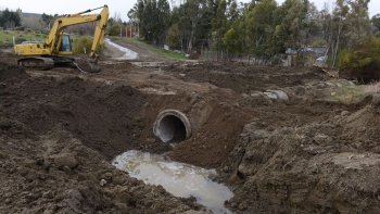 Los trabajos preventivos que desarrolla la Municipalidad frente al alerta de lluvias para este fin de semana.