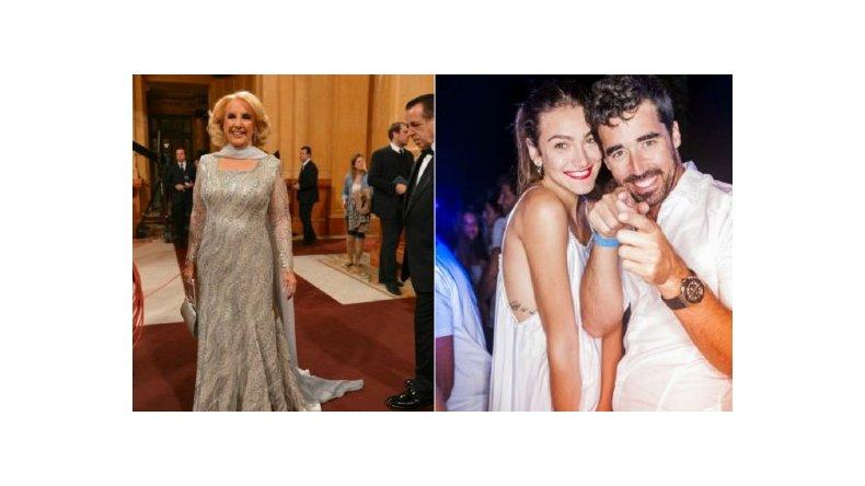 Mirtha Legrand no se acuerda del nombre de la novia de Nacho Viale