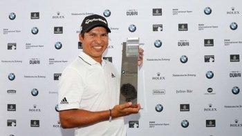 andres pigu romero se consagro campeon en el tour europeo de golf