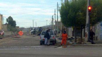 Foto ilustrativa. Trabajos después del temporal en calle O´Donell.