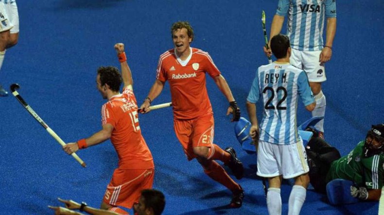Argentina fue superada con autoridad por Holanda.