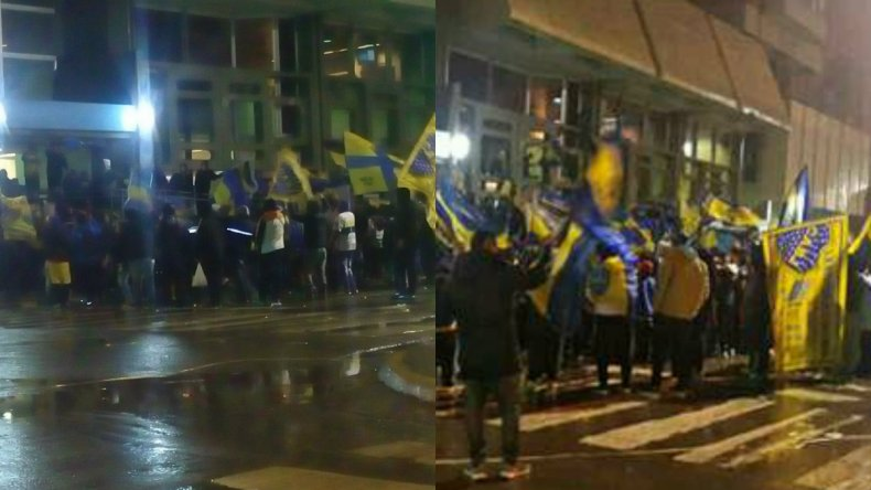 Los hinchas de Boca festejaron otra vez el título en Primera División
