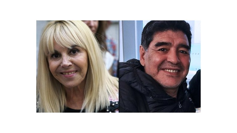La entrevista a Claudia Villafañe en lo Susana superó en rating a la de Diego Maradona