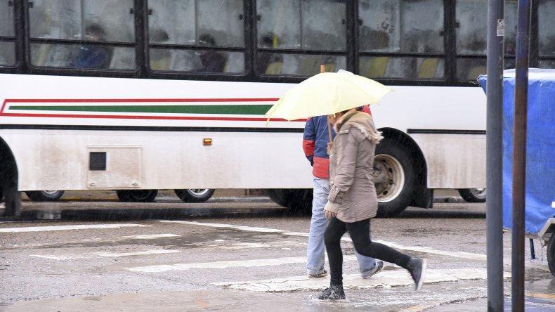 No para la lluvia: cayeron 39 mm hasta esta tarde