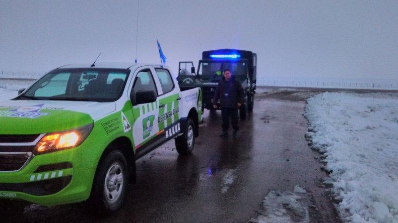 Defensa Civil rescató a varados en rutas y zonas alejadas