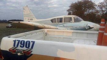Secuestran 450 kilos de marihuana que transportaron desde Paraguay en una avioneta.