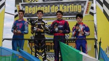 Ignacio Montenegro largó del fondo y accedió al último lugar del podio en la Junior.