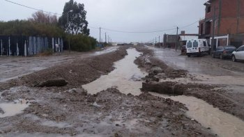 provincia rendira en comodoro los fondos aportados por el temporal