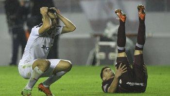 La desazón de Independiente tras un empate que significó una derrota.