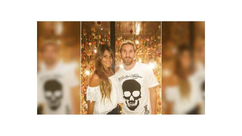 El casamiento de Messi y Antonella