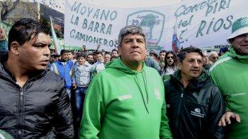 moyano reclamo una gran movilizacion para ponerle un limite al gobierno