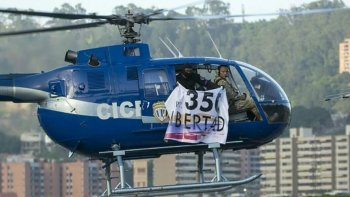 El piloto Oscar Pérez es intensamente buscado por el gobierno de Venezuela.
